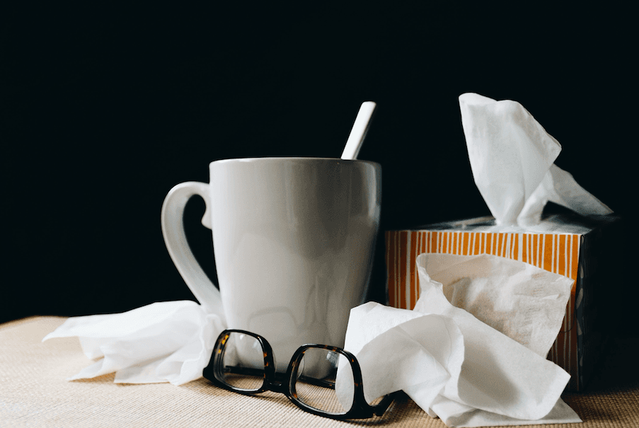 Tips for studying while sick